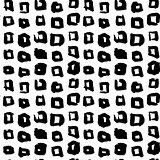 Square Hand Drawn Seamless Pattern