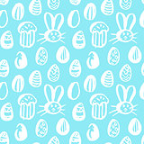 Trendy Easter Seamless Pattern