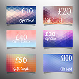 Gift card designs