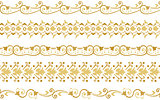 Seamless decorative borders