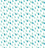 Seamless rain pattern