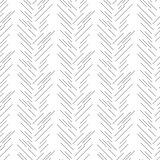Herringbone grey strokes seamless pattern.