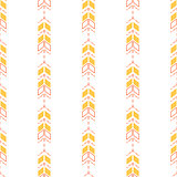 Small arrow line seamless pattern.