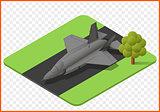 fighter jet vector