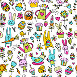 Easter, seamless pattern for your design