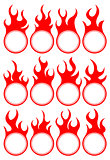 Twelve fire icon