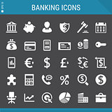 Banking and Investment icons collection
