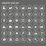 Big Industry icon set