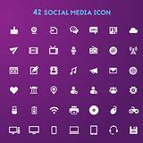 Big Social Media icon set