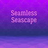 Night Sea Seamless Background