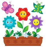 Flower box theme image 2