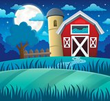 Night farmland theme 1