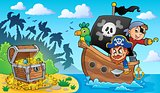 Pirate boat theme 2