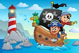 Pirate boat theme 3