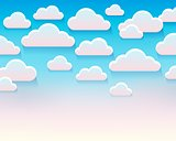 Stylized clouds theme image 5
