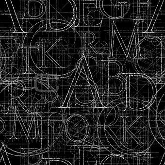 font seamless