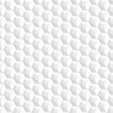 Decorative texture - seamless white shapes