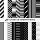 Seamless striped patterns.