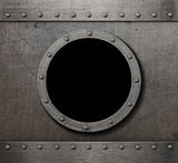 submarine porthole steam punk background