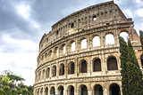 The Great Roman Colosseum Coliseum, Colosseo in Rome