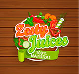 Zesty Juices symbol.