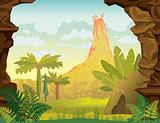 Prehistoric landscape.