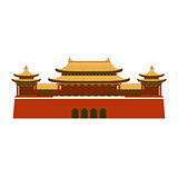 East Asian Building icon.