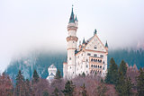 Fairytale Neuschwanstein Castle, Bavaria, Germany