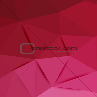 Abstract pink graphic art