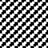 Seamless diagonal arrows pattern.