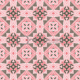 abstract geometric tiles bohemian