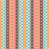 ethnic geometric striped seamless tribal pattern