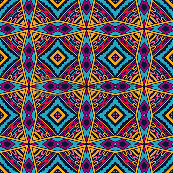 tiled geometric seamless pattern