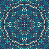 Abstract lace flower mandala ornament