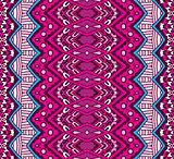 Seamless geometric striped pattern