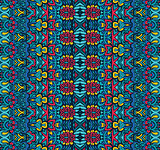 ethnic tribal ornamental pattern colorful