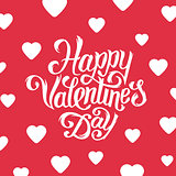 Happy Valentines Day greeting card design