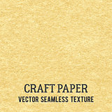 Craft paper seamless vector texture