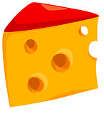 cheese food object illustration