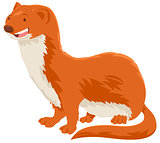 weasel cartoon animal character