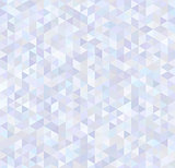 Glossy triangles, abstract brilliant seamless pattern