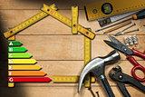 Home Improvement Concept - Energy Efficiency
