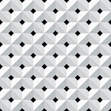 Seamless 3d geometric pattern.