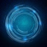 Techno binary code background
