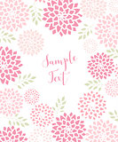 Vector Floral invitations