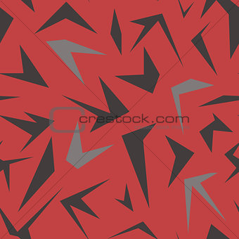 Abstract geometrical pattern with polygons