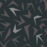 Seamless geometrical pattern with polygons