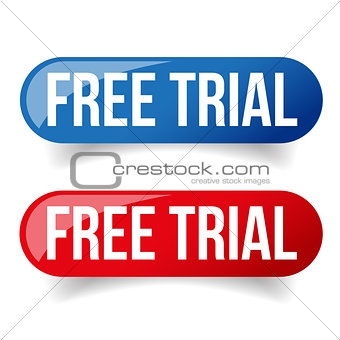 Free trial button set