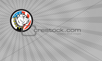 American Bulldog Security Business card