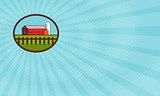 Red Barn Organic Farm Business card